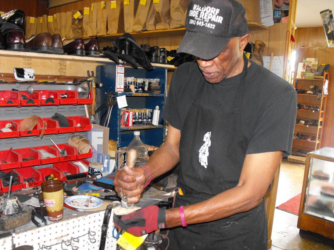 Quincy Jones at work
